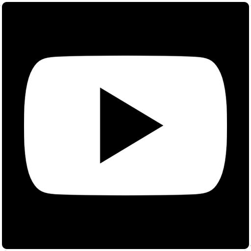 YouTube logo footer NIEUW